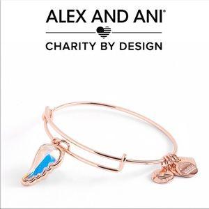 Alex and Ani Guardian Wing Charm Bracelet